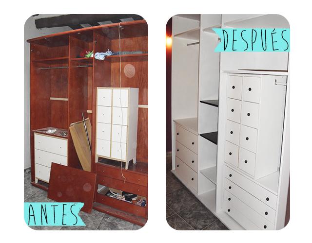 El armario (o vestidor) CARA B
