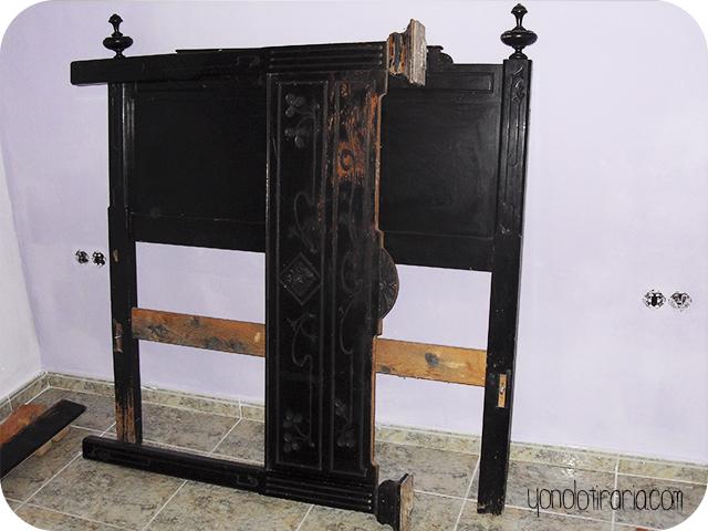 Redecorar un dormitorio solo con pintura y aprovechando muebles
