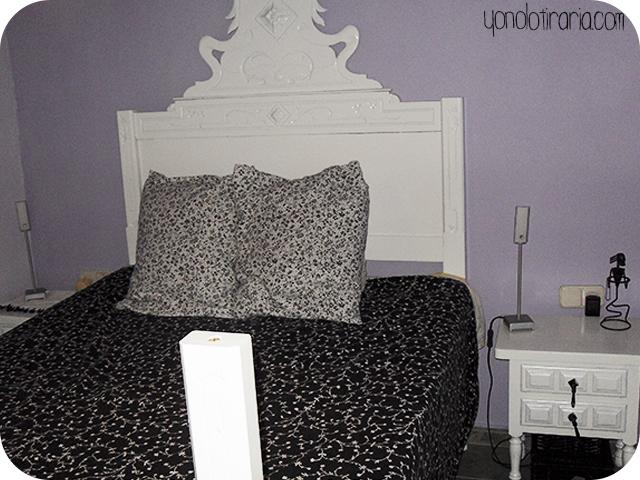 Redecorar un dormitorio solo con pintura y aprovechando muebles ...