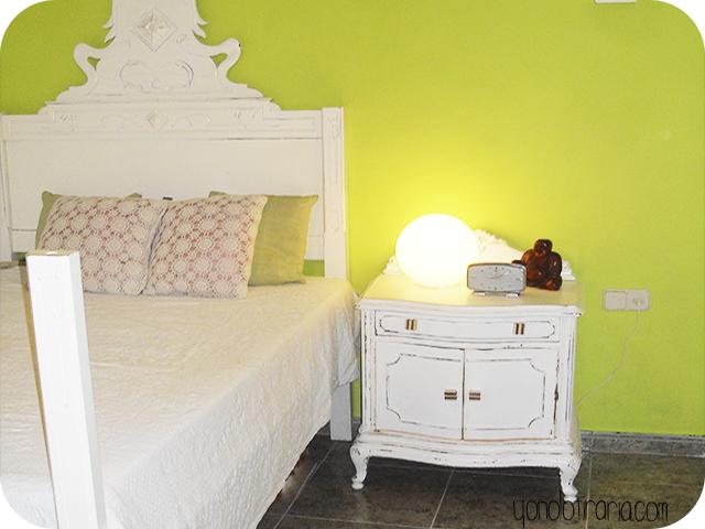 Redecorar un dormitorio solo con pintura y aprovechando muebles yonolotiraria yonolotiraria - Precio por pintar una habitacion ...