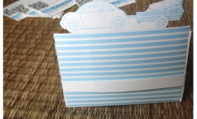 Tarjeteros de papel listos para imprimir