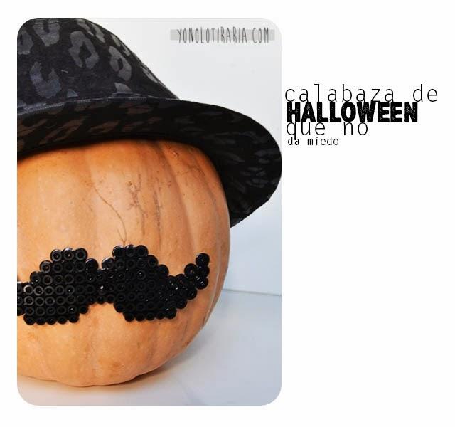 "Calabaza ""divertida"" para Halloween"