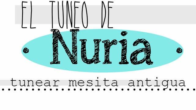 El tuneo de Nuria. La mesita de noche de su abuela Alegría