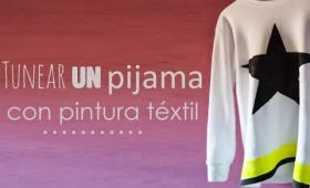 Tunear un pijama con pintura textil