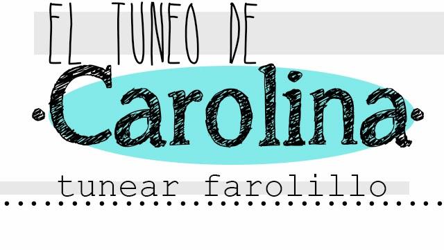 El tuneo de Carolina. Tunear un farolillo antiguo
