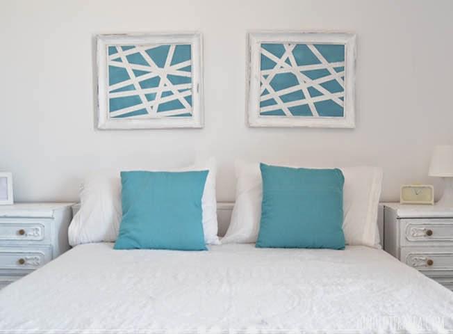 El apartamento 1 El dormitorio cuadros Yonolotiraria