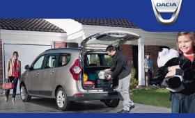 El espacio se multiplica con el Dacia Lodgy