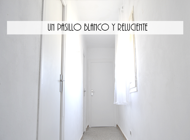 El apartamento. 4. El pasillo