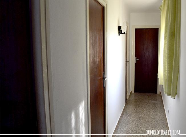 El apartamento 4 el pasillo yonolotiraria yonolotiraria - Como pintar un pasillo ...