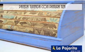 Panera tuneada con pintura tiza