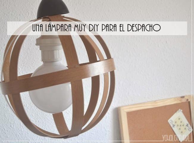 Mi nueva lámpara del despacho