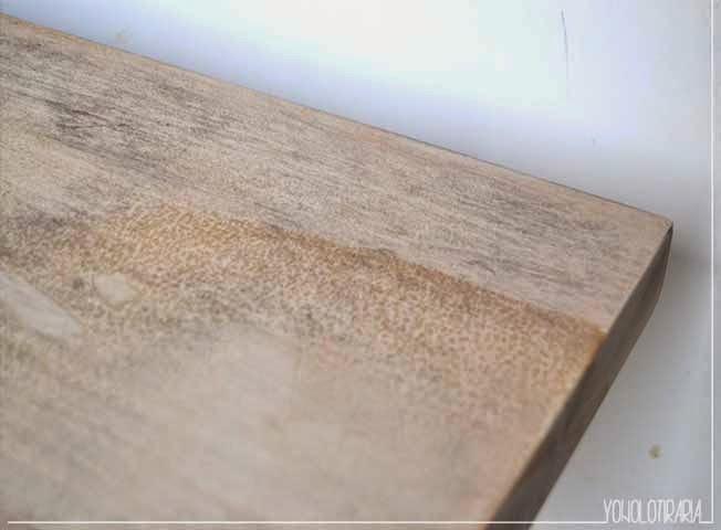Aclarar madera barnizada materiales de construcci n para - Pintura blanca para madera ...