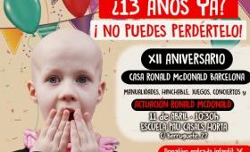 El aniversario de la Casa Ronald McDonald de Barcelona ya está aquí!
