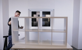 DIY – TUNEAR MUEBLE DE IKEA CON SPRAY
