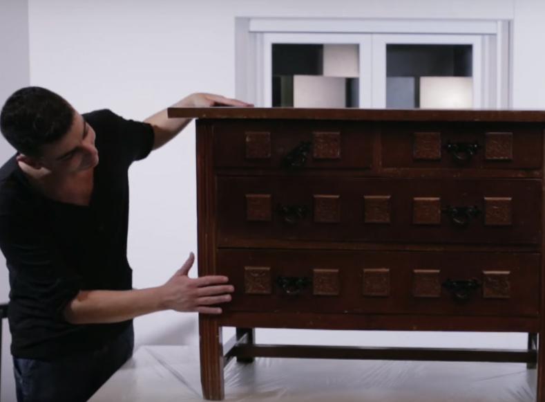 """DIY A LO GRANDE – MUEBLE EFECTO """"FALSO DECAPADO"""""""