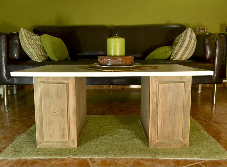 Muebles mesa de centro muy diy sin taladro sin - Tornillos para muebles ...