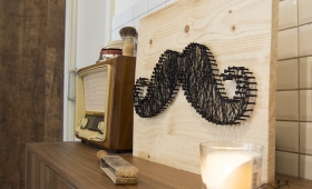 DIY – CUADRO MOUSTACHE CON STRING ART