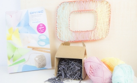 DIY – STRING ART (DESAFIO HANDBOX-OPITEC)